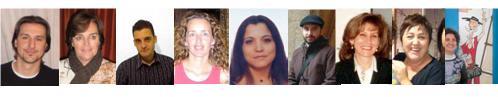 Autores del número 11 de la revista Tejuelo